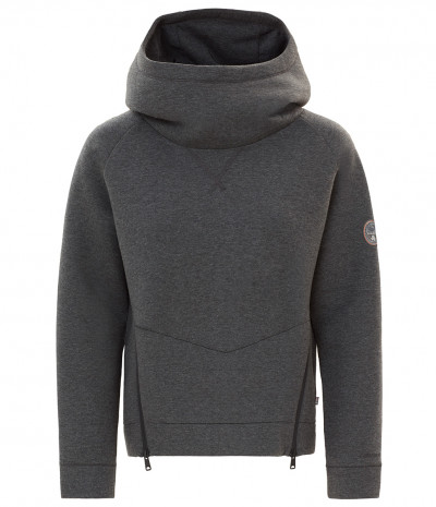 BALTY W HOODY NEW D GREY SS