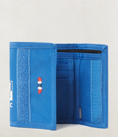 HAPPY WALLET 1 SKYDIVER BLUE