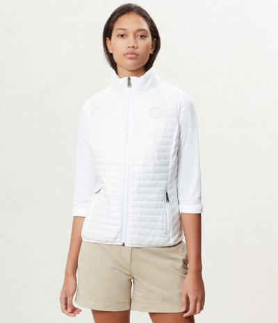 ACALMAR W VEST 1 BRIGHT WHITE