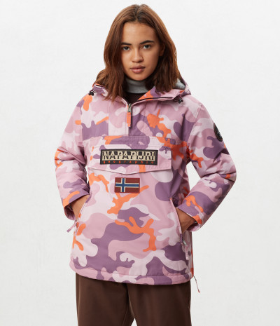 RAINFOREST W P PRINT PINK CAMO