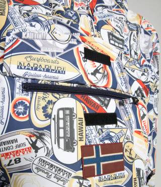 RAINFOREST S PRINT 2 LT BLUE AO F4A