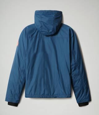 A-CIRCULAR JKT W POSEIDON BLUE