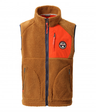 TOE VEST GOLDEN BROWN