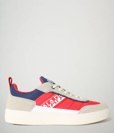 S1BARK01/NYS BEIGE/RED/NAVY